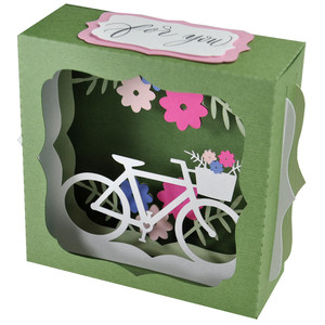 bicycle gift card box