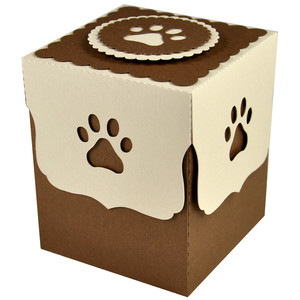 pawprint gift box