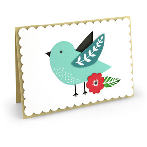 pop dot bird card