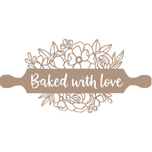 baked with love rolling pin