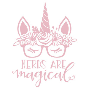 nerds are magical unicorn