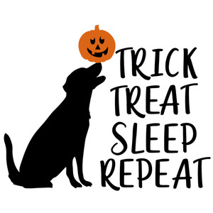 trick treat sleep repeat