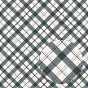 red & dark blue plaid seamless pattern