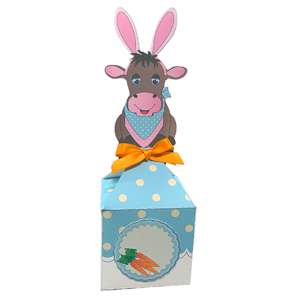 easter bunny cow anything box
