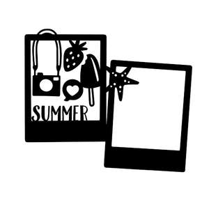 summer photo frames