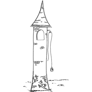 fairy tale tower sketch