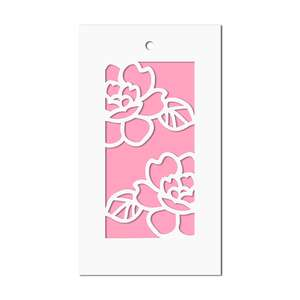 roses gift tag