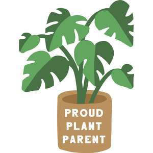 proud plant parent