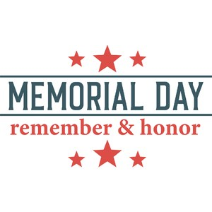 memorial day remember honor