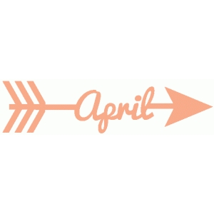 april word arrow