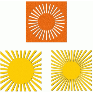 3 sun burst backgrounds