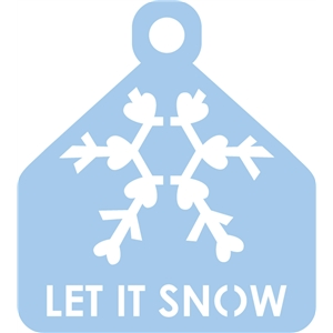 tag, let it snow