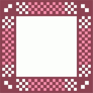 checker frame square