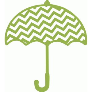 chevron stripe umbrella