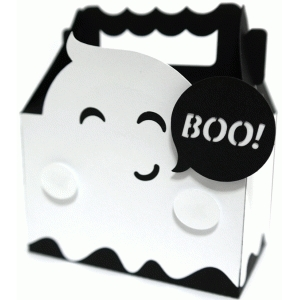 cute ghost box