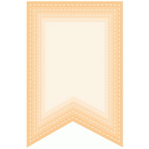 nested stitched banners