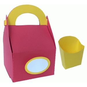 fast food containers