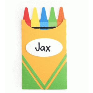 box of crayons gift card