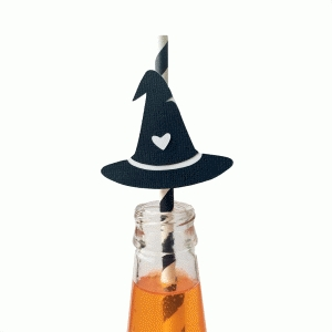 witch hat | straw topper