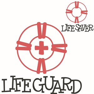 'life saver' 'life guard' word set
