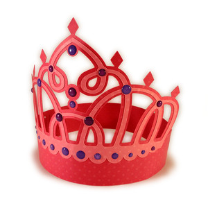 princess fancy jewel 3d crown