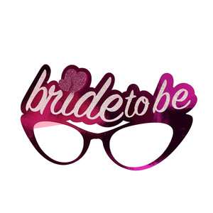 glasses bride to be