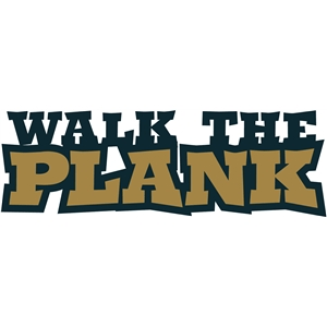 pirate phrase - walk the plank