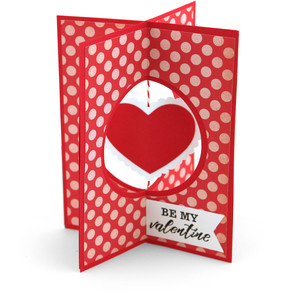 a2 x-card valentine heart