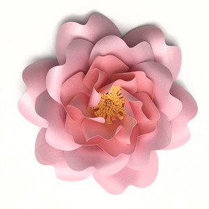 cabbage rose 3d