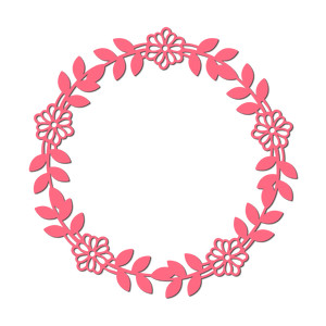 flowers wreath