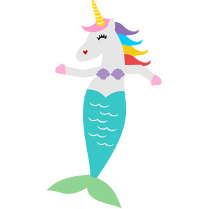 mermaid unicorn