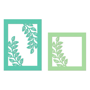 branch cutout frames