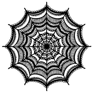 spiderweb mandala