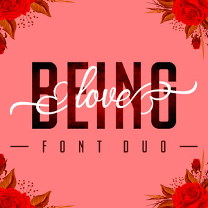 being love font duo