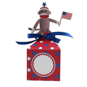 patriotic monkey larger anything box