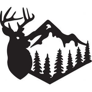 deer hunting logo