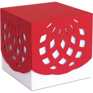 3d decorative party favor box