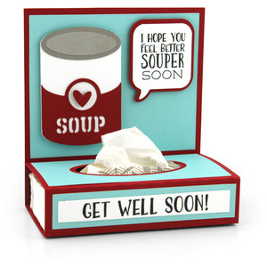 get well tissue wrap soup