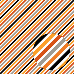 halloween stripes seamless pattern
