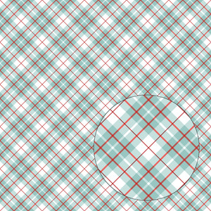 blue & red plaid seamless pattern