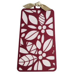 winter berry gift tag
