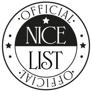 official nice list stamp