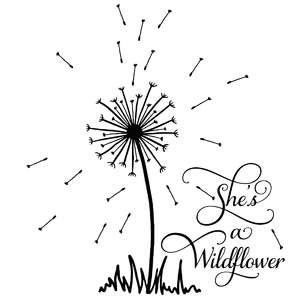 she's a wildflower dandelion quote