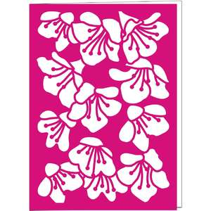 weigela flower card