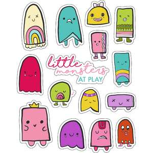 ml crazy monsters stickers