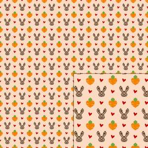 love easter pattern