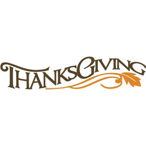phrase: thanksgiving
