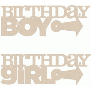 word stacks - birthday boy/girl