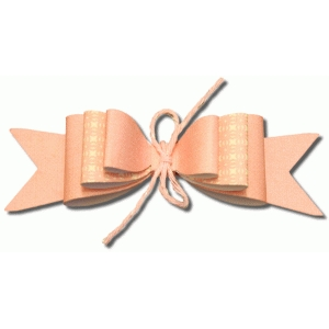 3d triple layered bow