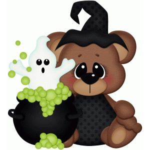 bear w ghost & cauldron pnc